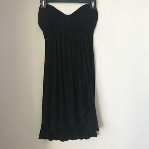 Dresses & Skirts - Black sweetheart tube top dress